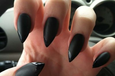 100 Most Trending Nails Designs In Black For Salon Owners In 2021