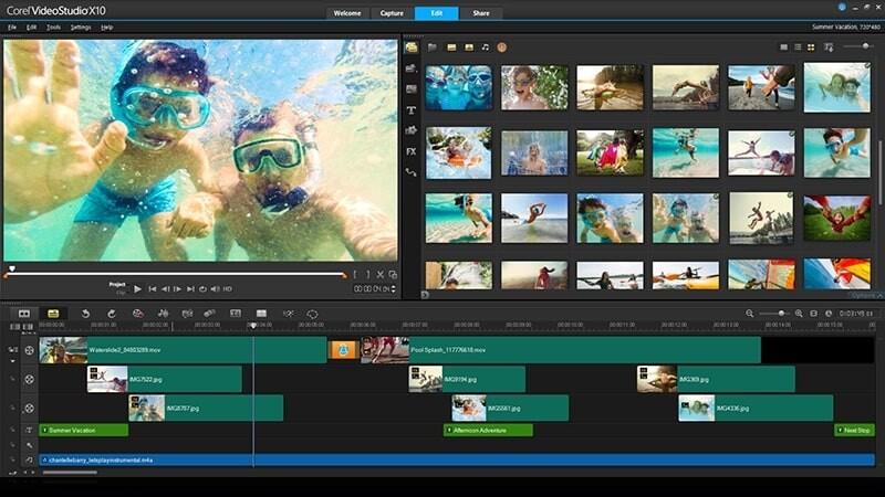 phan-mem-cat-video-tạo-slide-Corel-Videostudio-Ultimate