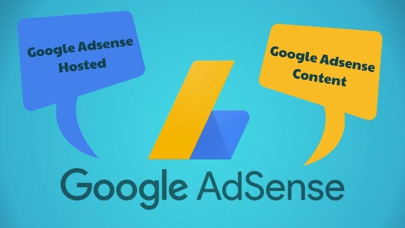 Google-Adsense-Hosted-va-Google-Adsense-Content