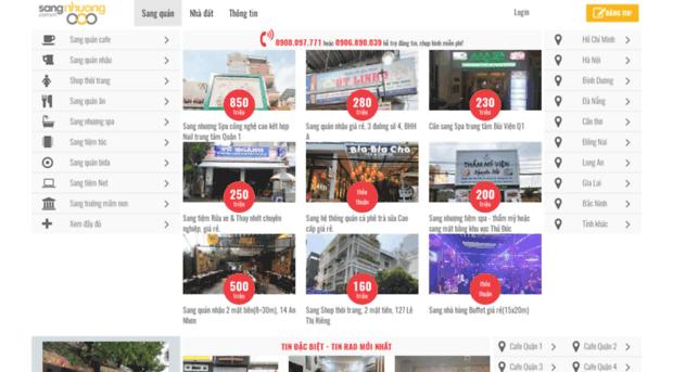 sangnhuong.com.vn - Sang nhượng quán đang kinh doa... - Sang Nhuong