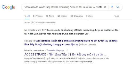 check-unique-content-voi-Google