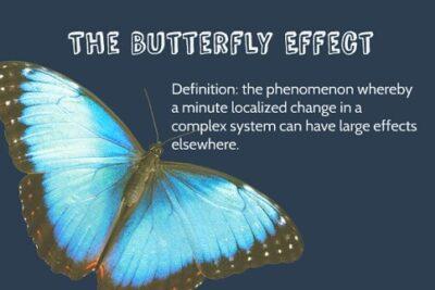 Hiệu ứng cánh bướm và những ứng dụng trong thực tế ít ai biết tới